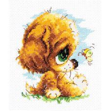 Набор для вышивания Милый глупыш, 12х14, Чудесная игла