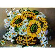 Набор для вышивания Вальс цветов, 18x25,5, Вышиваем бисером