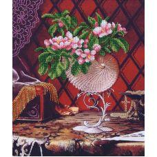 Набор для вышивания бисером Дамский каприз, 26x31,5, Магия канвы