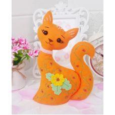 Набор для шитья Кошечка Муся в подарочной упаковке, 21см, Тутти