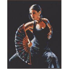 Набор для вышивания Фламенко, 24x30, Палитра