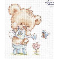 Набор для вышивания крестом Мой цветочек!, 12x14, Чудесная игла