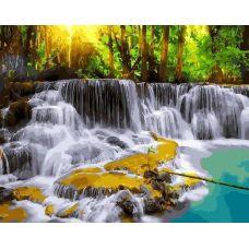 Живопись по номерам Лесной водопад, 40x50, Paintboy, GX23123