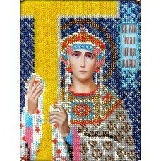 Набор для вышивания Святая Елена, 14x19, Вышиваем бисером
