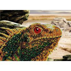 Набор для вышивания Варан, 18x23, Вышиваем бисером