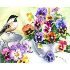 Живопись на холсте Утренний натюрморт, 40x50, Paintboy, GX21892