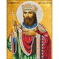 Набор для вышивания Святой Константин, 20x26, Вышиваем бисером