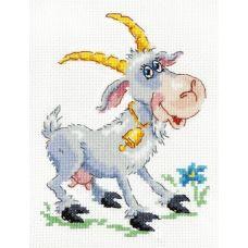 Набор для вышивания Коза-дереза, 11х14, Чудесная игла
