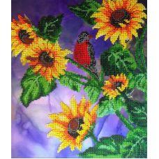 Набор для вышивания Живое солнце, 28x33, Fedi
