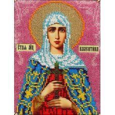 Набор для вышивания Святая Валентина, 14x19, Вышиваем бисером
