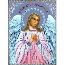 Набор для вышивания Ангел Хранитель, 19x26, Вышиваем бисером