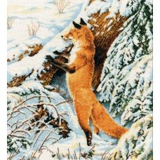 Набор для вышивания Рыжая охотница, 27x31, Овен