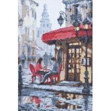Набор для вышивания После дождя, 19x30, Палитра