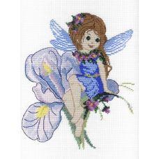 Набор для вышивания бисером Фея-Ирис, 30x25, МП-Студия