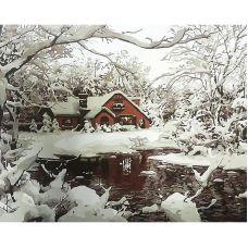 Живопись по номерам Зима, 40x50, Paintboy, GX7976