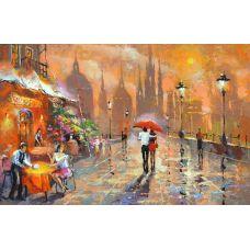 Живопись по номерам Летнее кафе, 40x50, Paintboy, GX3020