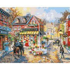 Живопись по номерам Городская площадь, 40x50, Paintboy, GX7259