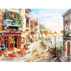 Живопись по номерам Приглашение пообедать, 40x50, Paintboy, GX7233