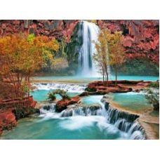 Живопись по номерам Водопад, 40x50, Paintboy, GX7253