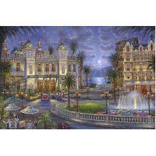 Живопись по номерам Казино в Монте-Карло Томаса Кинкейда, 40x50, Paintboy, GX3861