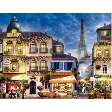 Живопись по номерам Парижский пейзаж, 40x50, Paintboy, GX3241