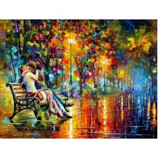 Живопись по номерам Вечер страсти, 40x50, Paintboy, GX6389