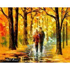Живопись по номерам Счастливая пара, 40x50, Paintboy, GX7628