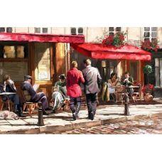 Живопись по номерам Кафе у дороги, 40x50, Paintboy, GX3616