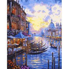 Живопись по номерам Гранд-канал в Венеции, 40x50, Paintboy, GX7191