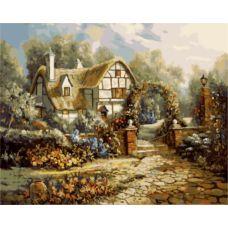 Живопись по номерам Летний дом, 40x50, Paintboy, GX8485