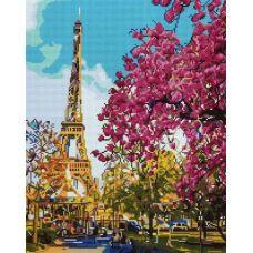 Алмазная мозаика Летний Париж, 40x50, полная выкладка, Painting Diamond