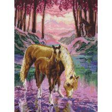 Набор для вышивания крестом Чудесное видение, 26x35, Чудесная игла