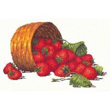 Набор для вышивания крестом Сладкая ягода, 30x19, Чудесная игла