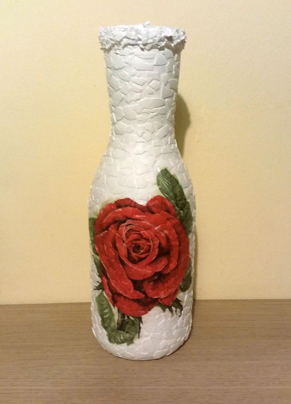Идеи декупажа вазы фото