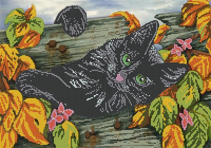 Вышивка бисер рисунок на ткани