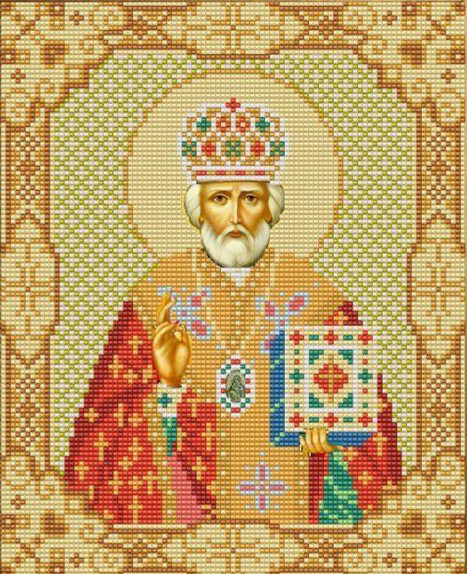 Вышивка святитель николай чудотворец 83