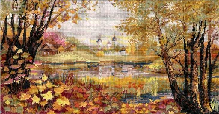 Вышивка осень наборы
