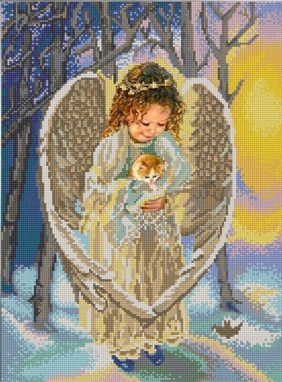 Ангел ангелов бисером