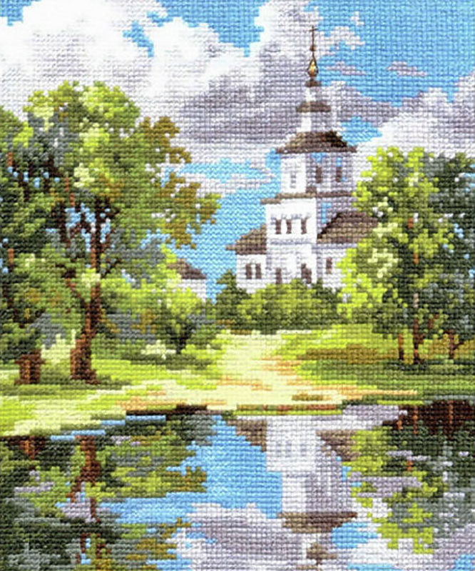 Храм вышивка набор