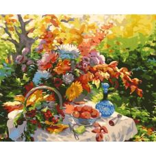 Раскраска Дары природы Зинаиды Ведешиной, 40x50, Белоснежка