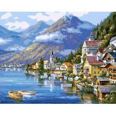 Раскраска Хальштадт. Австрия, 40x50, Белоснежка