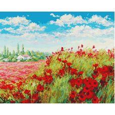 Раскраска Маковое поле, 40x50, Белоснежка
