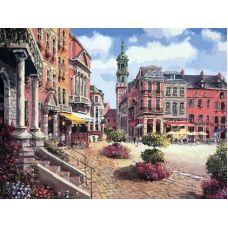Живопись по номерам Шарлеруа. Бельгия, 40x50, Белоснежка