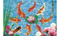 Алмазная мозаика Богатство, 105x73, частичная выкладка, JANE