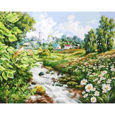 Раскраска Там где поют соловьи, 40x50, Белоснежка
