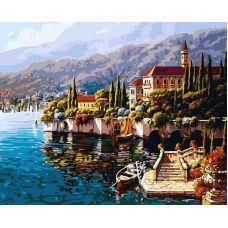 Картина по номерам Варенна. Италия, 40x50, Белоснежка