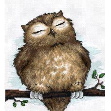 Набор для вышивания Совушкин сон, 18x19, Овен