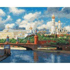 Раскраска Московский кремль Игоря Разживина, 40x50, Белоснежка