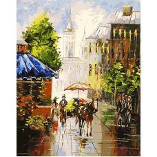 Раскраска Мотивы старого города, 40x50, Белоснежка
