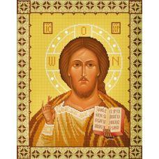 Ткань для вышивания бисером Господь Вседержитель, 29х37, Конек